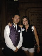 Me being made an Honorary Caretaker of The Haunted Mansion on my 40th B-day!